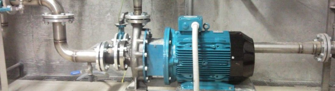 NCB closed coupled centrifugal pumps