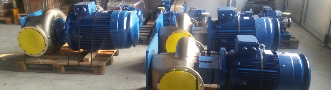 NCL in-line centrifugal pumps